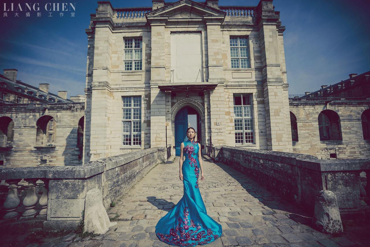 《海外婚紗》Yaya&Sam / 法國、巴黎