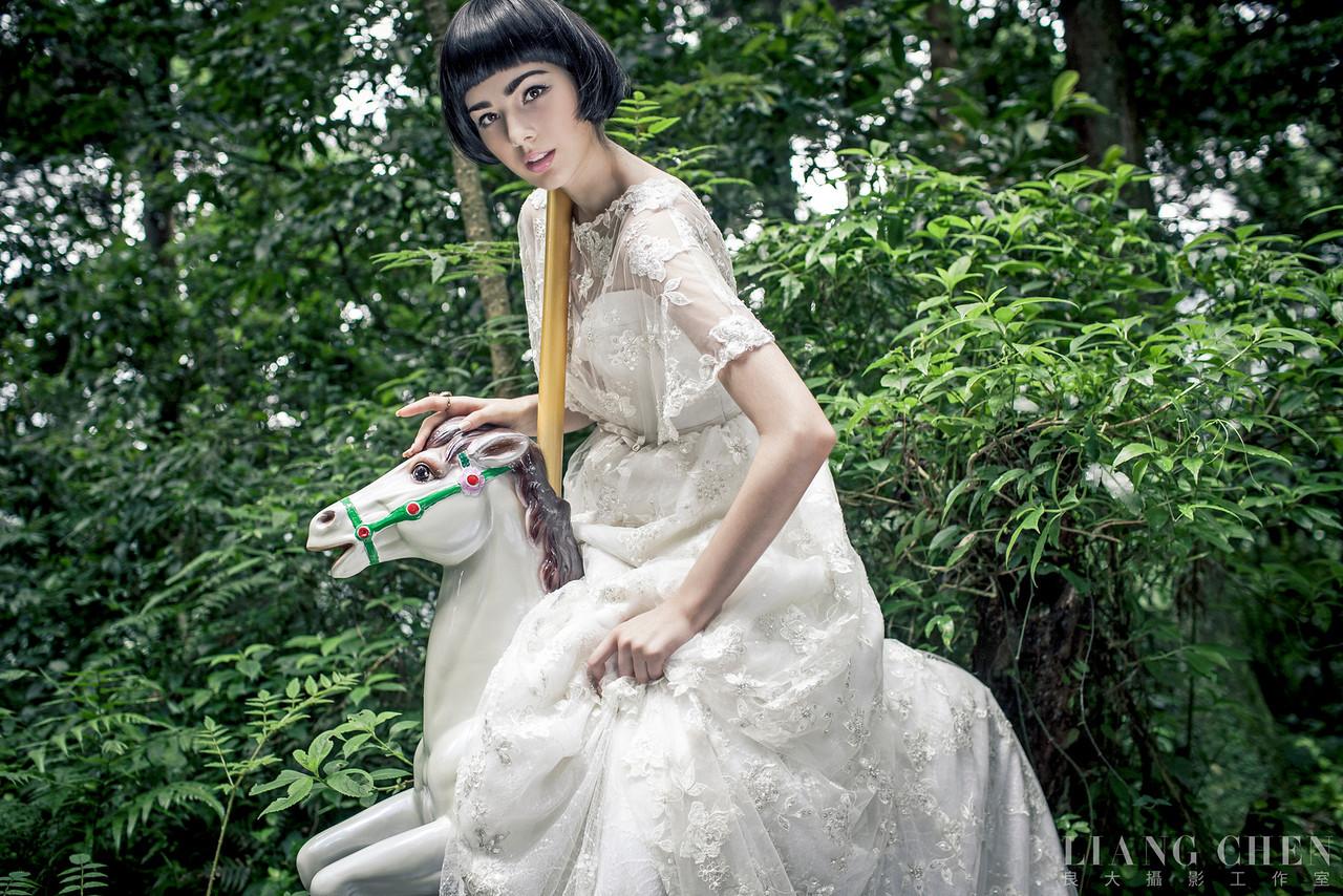 《創作婚紗》Monica / 新娘物語雜誌
