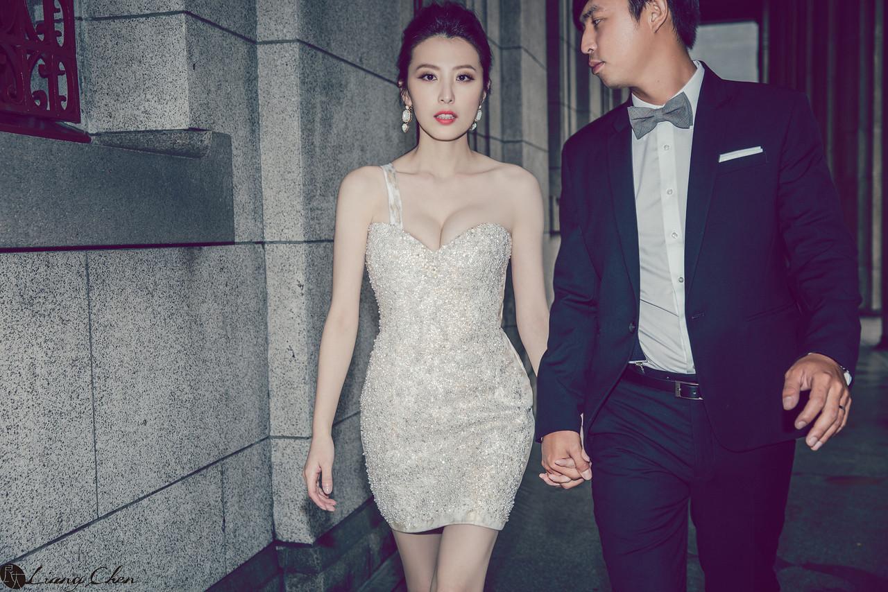 《婚紗》Rebecca/台灣銀行、陽明山