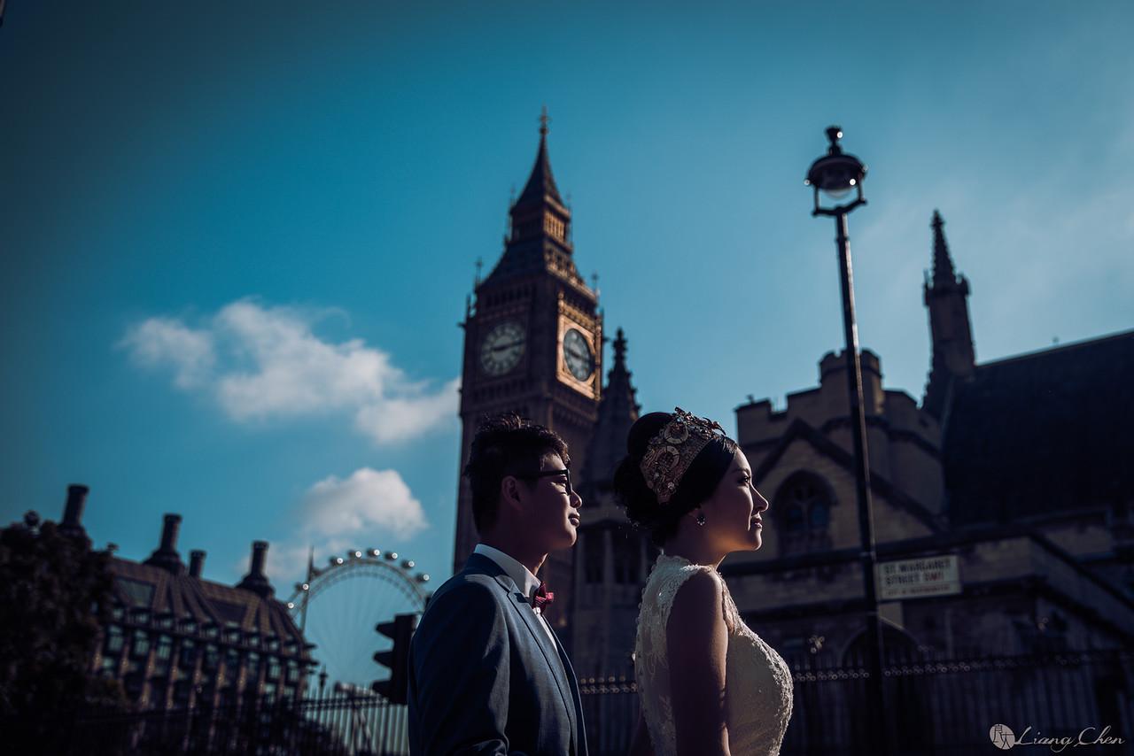 《海外婚紗》Lucia & Ray / 英國、倫敦