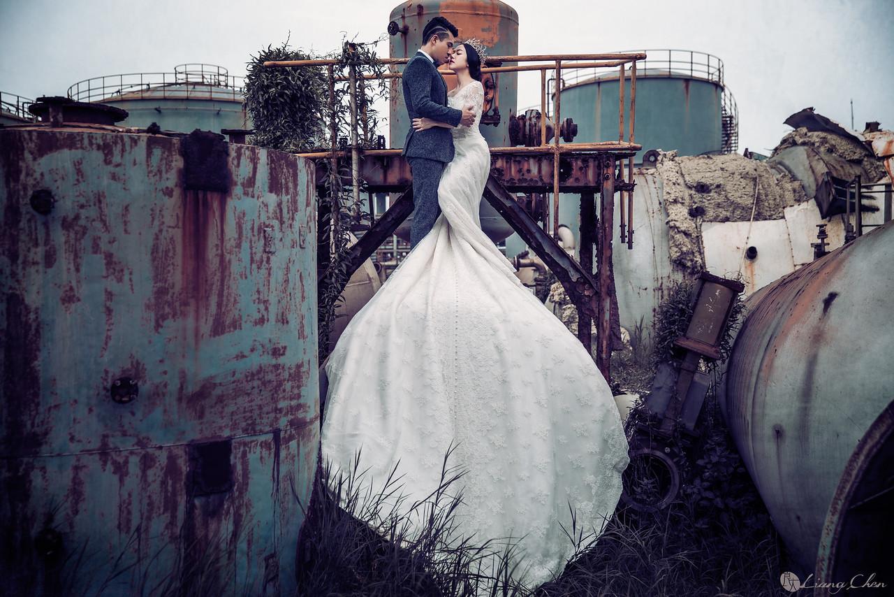 《婚紗》 小Q & Grace / 忘憂森林、老英格蘭莊園