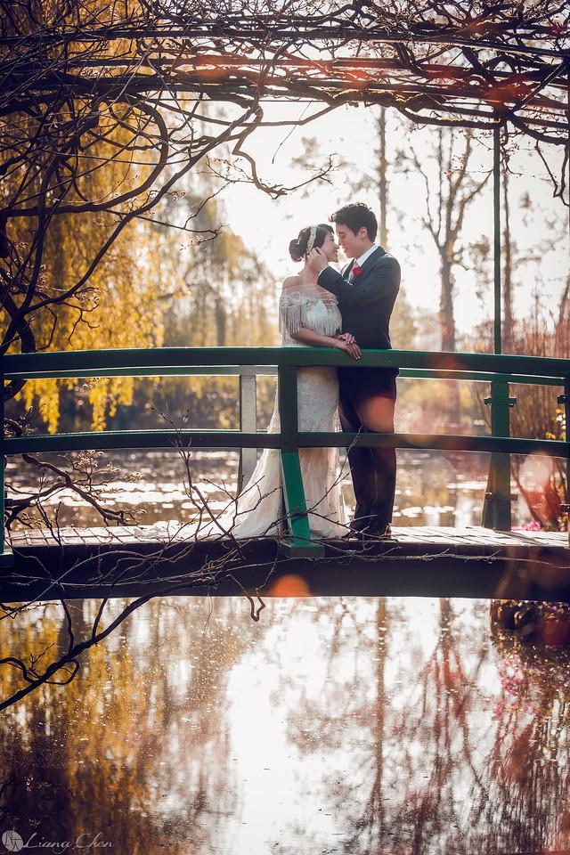 《海外婚紗》Jesse & Queenie /  巴黎、莫內花園