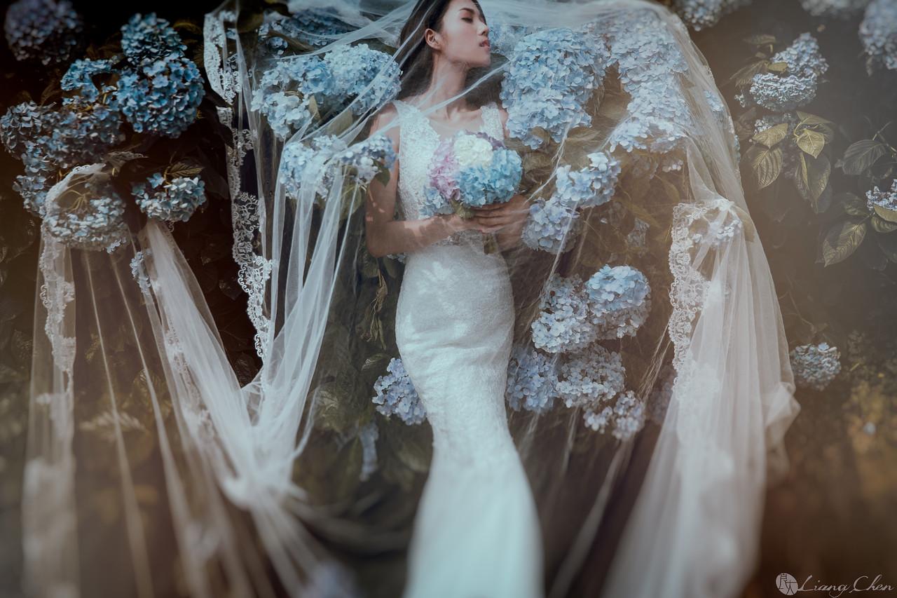 《婚紗》昱霖 & 孫懿 / 陽明山 繡球花、南雅奇岩