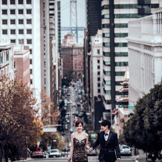《海外婚紗》Jason & Vivian / 美國 舊金山
