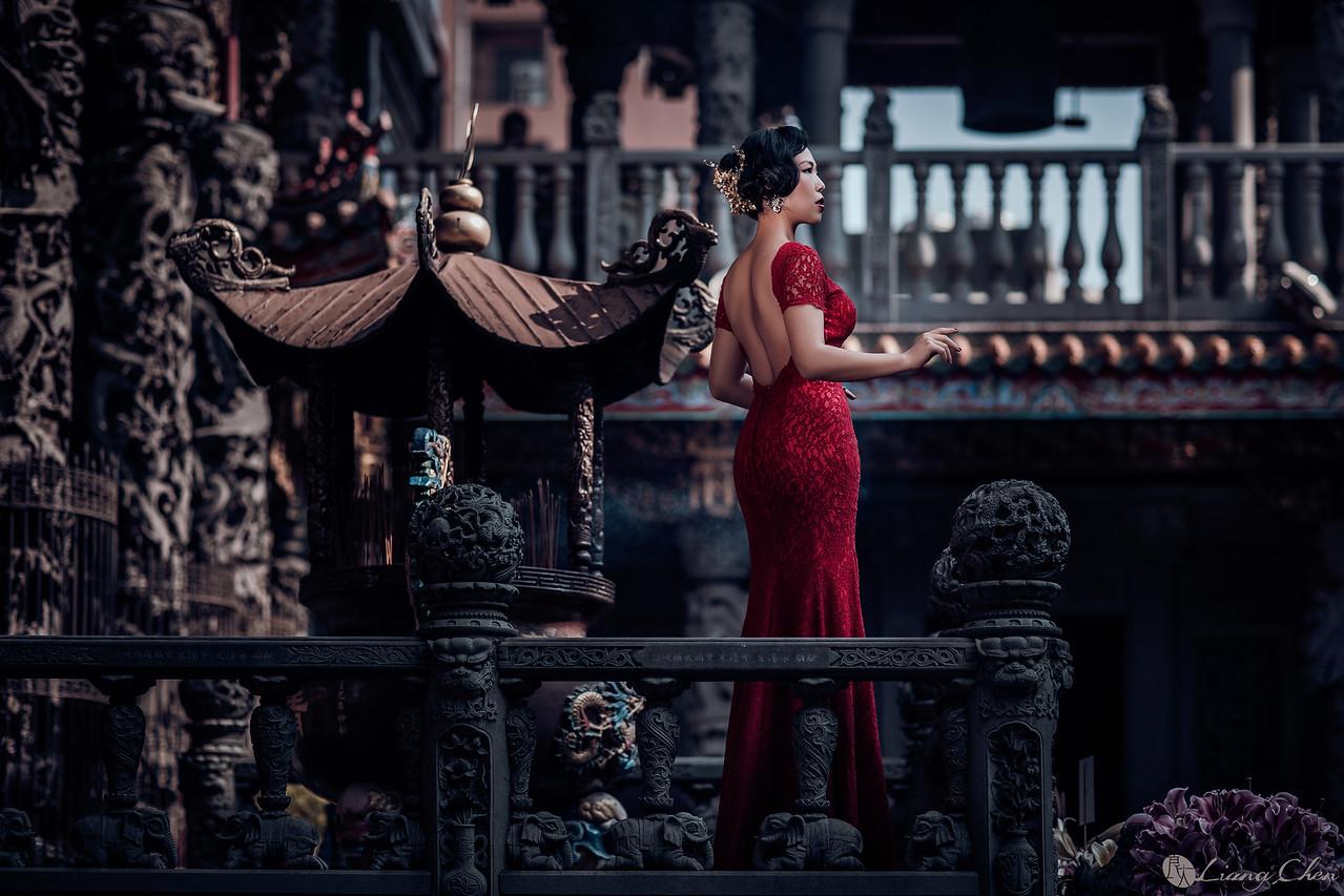 《婚紗》郡寧 & Erik / 三峽 祖師廟