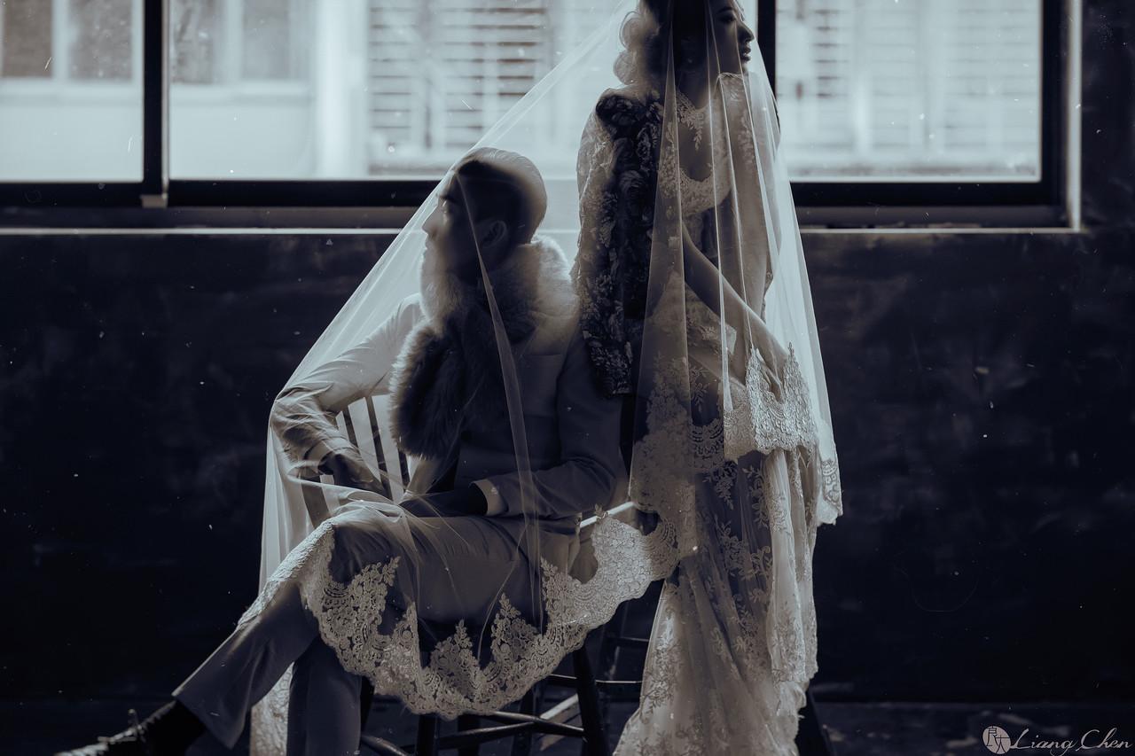 《婚紗》文 & 瑤 / 陽明山、Lisa 水晶燈飾