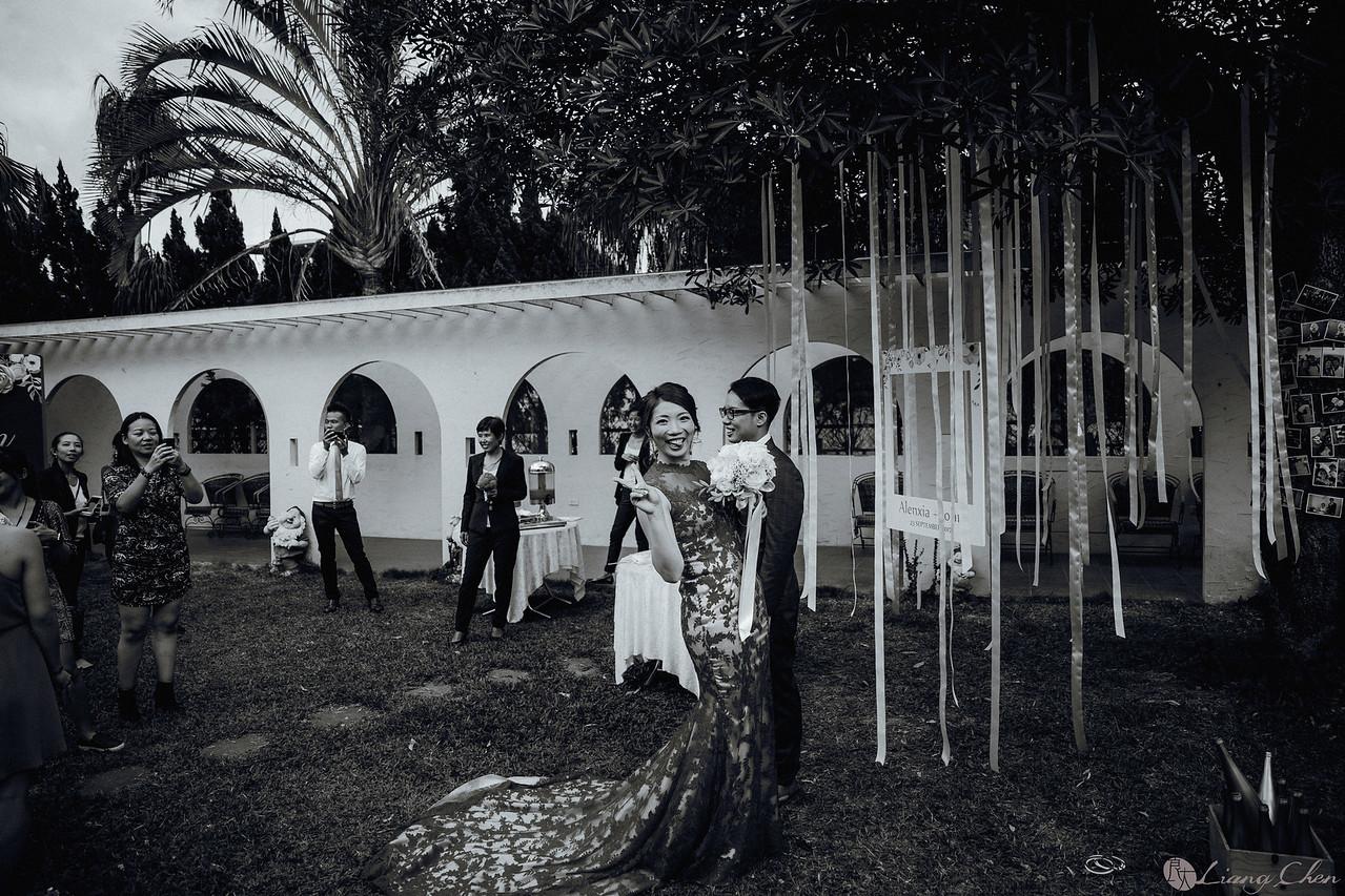 《婚攝》John & Alenxia / 土城桐話庭園餐廳