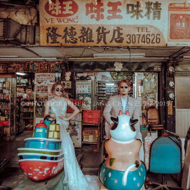《婚紗》Raina & Wilson / 棚內、水中婚紗、萬華柑仔店