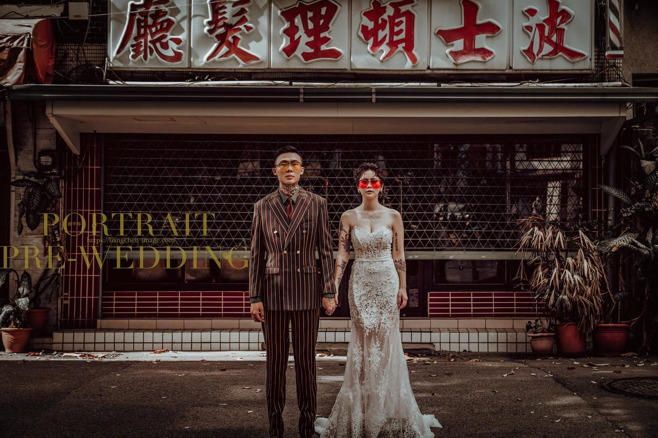 《婚紗》Cheri&百伸 / 陽明山、Binma134攝影棚
