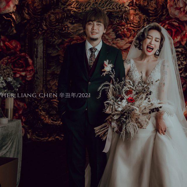 《婚攝》Claire&朝量 / 青青食尚花園會館